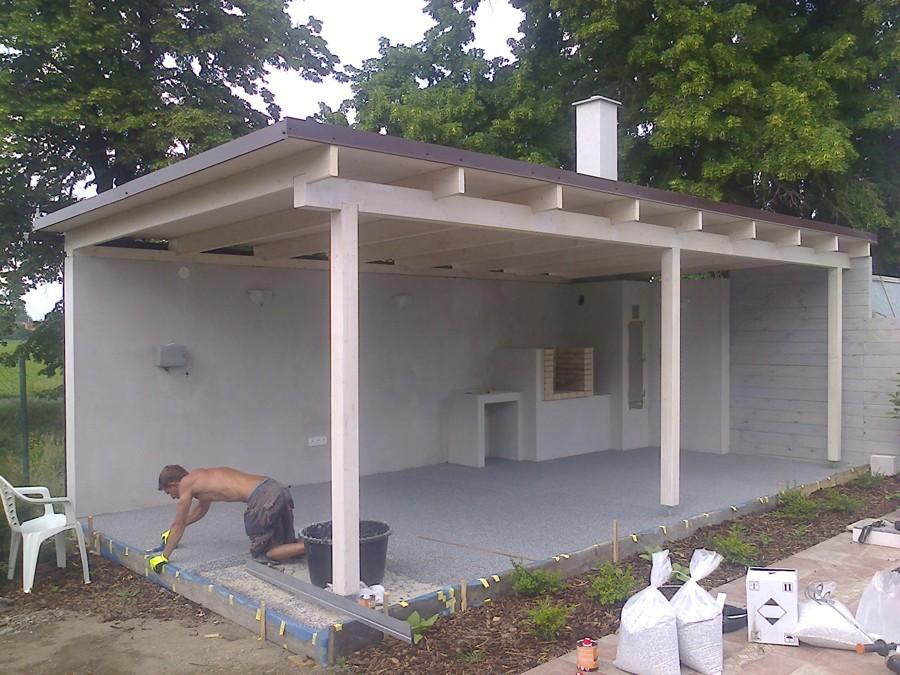 Stavby v zahradě